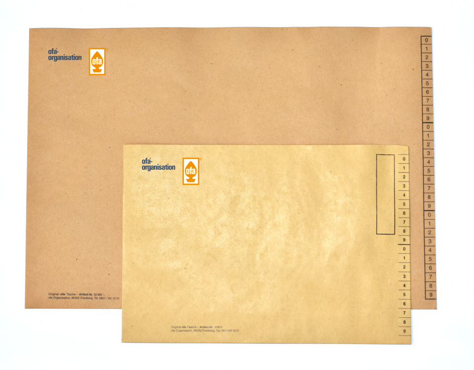 ofa Organisation Kuvert / Bild PR Manhart